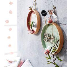 Auch an den Wänden darf die Frühlingsdeko von DEPOT nicht fehlen!