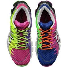 ASICS® Gel - Kinsei 4 - Women's (love that the left  right shoes are different colored)