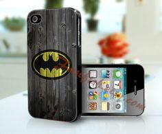 iPhone 4 Case iPhone 4S case iPhone case iPhone 5 case  unique iPhone Case Samsung Case - Batman. $11.99, via Etsy.