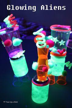Glowing Aliens ~ Learn Play Imagine