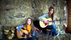 I See Fire - Ed Sheeran cover by Caitlin & Sidney - Acoustic Music Video - BEAT100