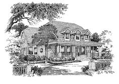 Country House Plan with 2663 Square Feet and 3 Bedrooms from Dream Home Source   House Plan Code DHSW18516