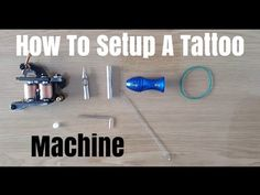 Hi all this week's video is on how to setup a tattoo machine as a beginner step by step for ( practicing ) ( tattoo video NOT for kids ) Subtitles Available . Up Tattoos, Tattoos For Kids, Friend Tattoos, Small Tattoos, Tatoos, Learn To Tattoo, Everything Is Connected, Tattoo Videos, Tattoo Parlors
