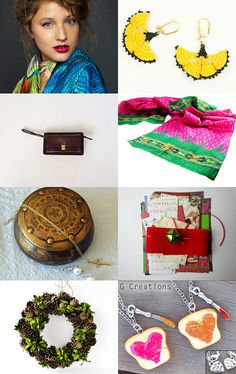 colors of the season by atelier abeille on Etsy
