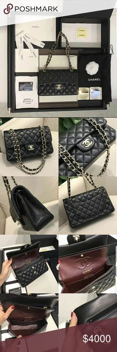 d6e7226e5 Chanel Classic flapbag (medium) 💯Real and new 💯the codition is  excellence. carrieann.lwyb.2.0@gmail.com 👆EMAIL ME FOR MORE DETAILS ❤❤❤ CHANEL  Bags ...