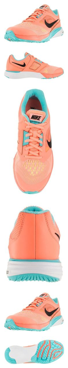 $85 - Nike Women's Tri Fusion Run Snst Glw/Blk/Td Pl Bl/Ghst Grn Running Shoe 9.5 Women US #shoes #nike #2015