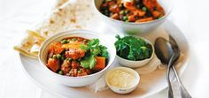 This vegetable curry is the perfect meat-free mid-week meal for the cool-weather months.