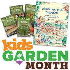 Announcing #KidsGardenMonth #giveaway week 2! Like us on Facebook to find out how to win!