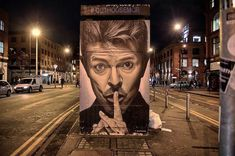 How acclaimed Manchester street artist is changing the face of the city - I Love Manchester I Love Manchester, Manchester Street, Manchester City Centre, Marlborough House, War Film, Cult Following, Skate Park, Jimi Hendrix, Breaking Bad