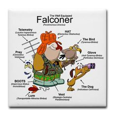 the well equipped falconer