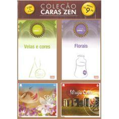 Kit-2 Livros + 2 Cds(velas E Cores,florais/spa,magia Celta)   Willian Girassol