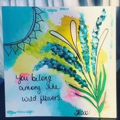 0ED105E5-4D61-4E23-AEFD-51CA989F314D Watercolor Paper, Watercolor Tattoo, Paint Pens, Favorite Quotes, Ink, Creative, Cards, Painting, Arches Watercolor Paper