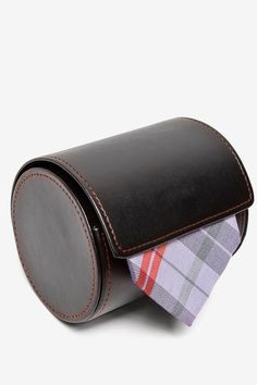 tie case - groomsmen gifts -- noone better steal this idea from me!
