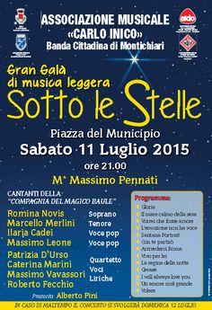 Gran Galà di Musica Leggera a Montichiari http://www.panesalamina.com/2015/37809-sotto-le-stelle-a-montichiari.html