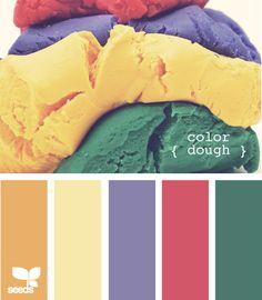 Color Dough - http://design-seeds.com/index.php/home/entry/color-dough