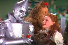 *THE TIN MAN & DOROTHY ~ The Wizard of Oz (1939).....parting is such sweet sorrow...