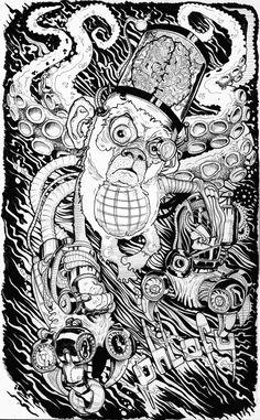 Bionic monkey by Grzesiek Wróblewski, via Behance