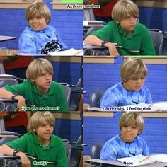 Disney Channel, The Suite Life of Zack and Cody. Zack Martin and Cody Martin. Dylan Sprouse and Cole Sprouse. Twins. Have you no shame? No.