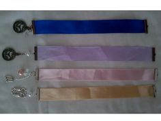 Bookmark - Tape with charms