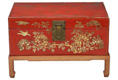 Chinese Trunk on Stand on OneKingsLane.com