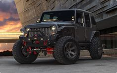 http://www.starwoodmotors.com provides a list of badass jeeps