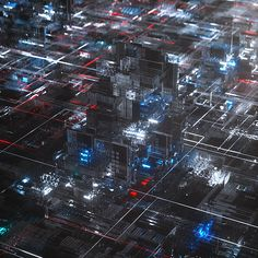 TSMC 2018 Symposium Opening Video - Styleframes on Behance Vector Animation, Big Data Visualization, Holography, Cyberpunk City, Lebbeus Woods, Tech Art, E Mc2, Futuristic Art, Maxon Cinema 4d