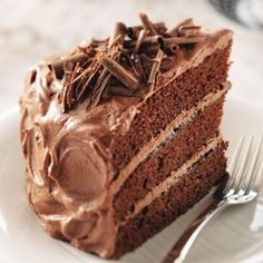 Best Chocolate Cake Recipe - Taste of Home