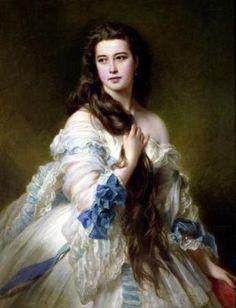 Virginia Oldoini - Portrait of Virginia Oldoini, Countess of Castiglione