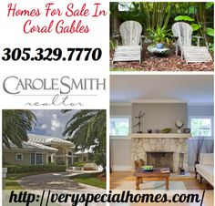 Search your property with a Carole Smith realtor in Coral Gables, Coconut Grove, Pine Crest and surrounding areas. Contact us at 305-329-7770 for more details.