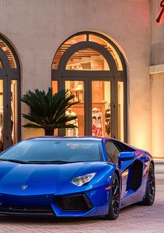 Lamborghini Aventador. You can't see, but I'm drooling right now. :P