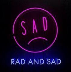 tumblr, pale, grunge, neon, sadness, love