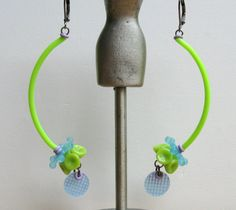 KINETIC SWAY Earrings by droolworthy on Etsy, $18.00