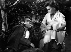 "James Dean and Natalie Wood in ""Rebel Without a Cause."" 1955 https://www.facebook.com/groups/246330695423042/"