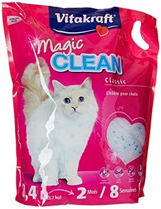 Vitakraft Magic Clean 15526 Cat Litter 8 Weeks l -- You can get more details by clicking on the image. Litter Box Cake, Kitty Litter Cake, Cat Litter Pan, Cat Litter Brands, Litter Box Covers, Matou, Oui Oui, Pet Supplies, Dog Cat