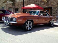 1969 Chevy Camaro.