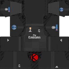 957b2f689 Real Madrid 2018 19 UCL Kit - Dream League Soccer Kits Goalkeeper Kits