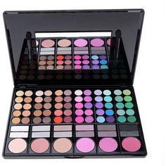 ACEVIVI Professional 78 Colors Eyeshadow Combination Pallet Eye Shadow... (66 PEN) ❤ liked on Polyvore featuring beauty products, makeup, eye makeup, eyeshadow, beauty, makeup kit, palette eyeshadow, eye shadow and mac eyeshadow