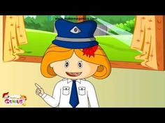 ▶ Road Safety Rules and Tips for Kindergarten,Preschoolers,Toodlers(in car,on road,traffic signs ) - YouTube