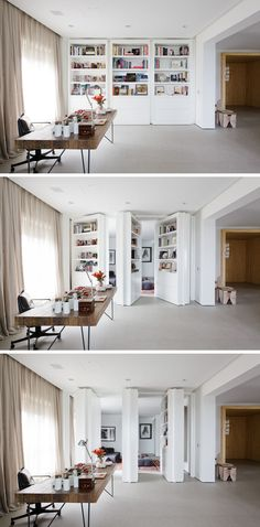 This room has hidden doors - take note for future home /