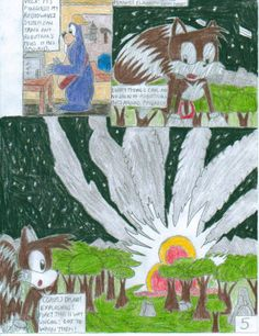 Sonic and the Freedom Fighters Ep. 1 Pg. 5 by SHREKRULEZ on DeviantArt Sonic Satam, The Freedom, Freedom Fighters, Deviantart, Painting, Painting Art, Paintings, Painted Canvas, Drawings