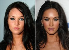 Celebrity plastic surgery before & after. Don't change yourself to fit what everyone else wants. YOU are beautiful the way you are.