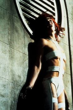 Milla Jovovich as Leeloo, in Luc Besson's The Fifth Element (1997)-- Still in my top 5 favorite movies ever.