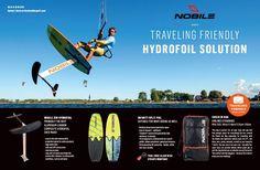 Nobile ZEN Hydrofoil - travelling friendly hydrofoil solution! Order online: client.service@nobilesports.com  #nobilezen #hydrofoil #kitehydrofoil #ikitenobile #nobilekites #nobile