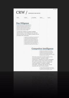 Leftloft, we are an italian design company / Projects / CRW
