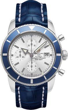 f20b59f4dfd8 Replica Breitling SuperOcean Mens Stainless Steel Reloj Revisión ...