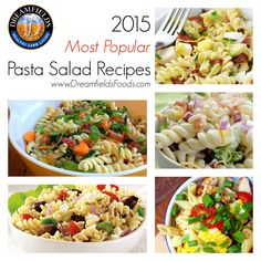 Our most popular and fan favorite #PastaSalad recipes perfect for #summer #bbq #cookouts and #potlucks! #easyrecipes