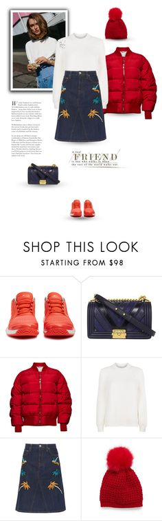 """""""01.02.2018"""" by bliznec-anna ❤ liked on Polyvore featuring adidas, Chanel, Magda Butrym, Victoria Beckham and Victoria, Victoria Beckham"""