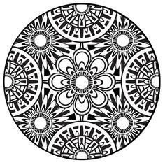 Mandala Coloring Pages PDF   Coloring Page, Mandala, Instant PDF Download, Printable Coloring Page ...