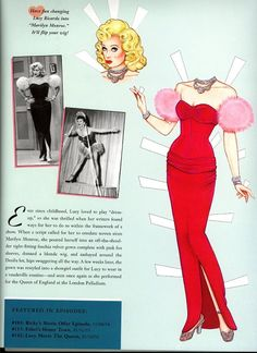 """""""I Love Lucy"""" paper dolls"""