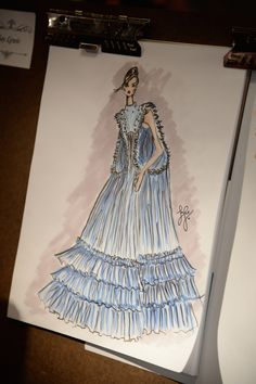 JCPenney asked fashion students to sketch their version of the gown from the live-action Cinderella.
